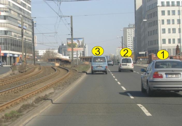 Cili automjet është duke lëvizur drejt?