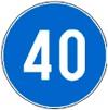 Çka na tregon kjo shenjë e trafikut dhe në cilin grup të shenjave bën pjesë?