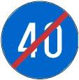 Në cilin grup të shenjave bën pjesë kjo shenjë e trafikut?
