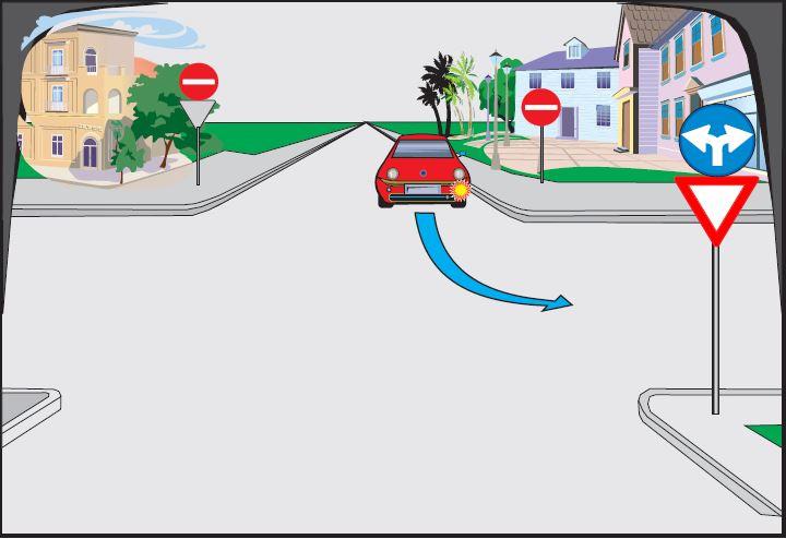 Automjeti i kuq kthehet majtas. Si është rreshtuar?