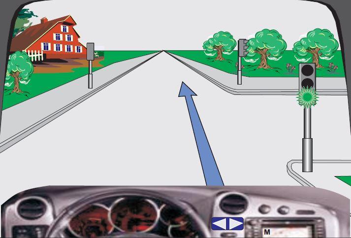 Çfarë domethënie ka drita e gjelbër vezulluese (me ndërprerje) në semafor?