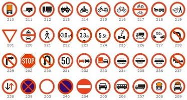 Shenjat e trafikut rrugor