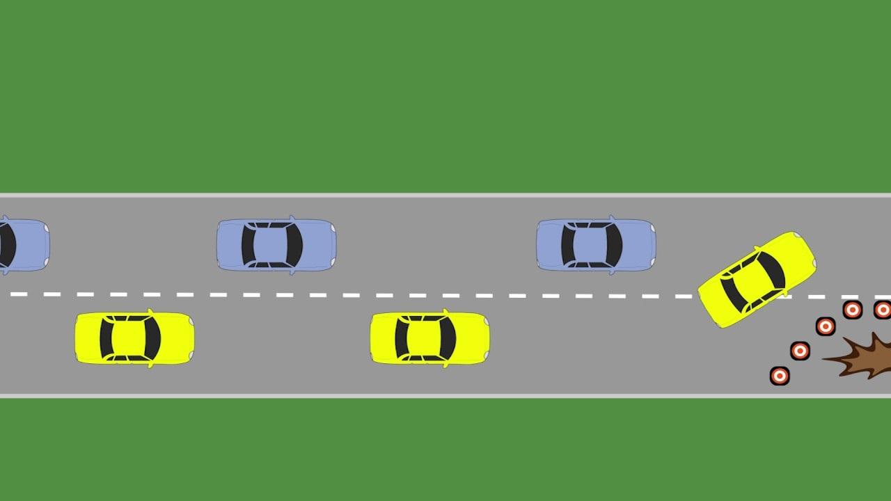 Si bëhet ndërrimi i shiritit rrugor?