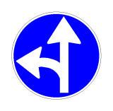 Sinjali në figurë paralajmëron një kryqëzim të rrezikshëm.