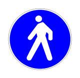 Sinjali në figurë ndalon qarkullimin për të gjitha mjetet.