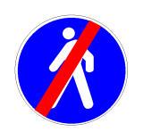 Pas sinjalit në figurë mund të lejohet qarkullimi i mjeteve.