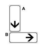 """Paneli plotësues B në figurë, i vendosur poshtë sinjalit të rrezikut """"KTHESA TË RREZIKSHME"""", tregon fundin e kthesave të rrezikshme."""