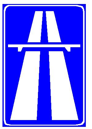 Sinjali në figurë tregon hyrjen në një rrugë me karrexhata të ndara.