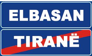 Sinjali në figurë u tregon drejtueseve të mjeteve se janë duke dalë nga territori i Elbasanit.