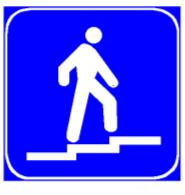Sinjali në figurë tregon një mbikalim të veçantë, të rezervuar vetëm për invalidët.