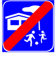 Sinjali në figurë sinjalizon drejtuesit e mjeteve se në rrugën që vjen pas sinjalit, ndalohet të përdoren sinjalet akustike (boritë).