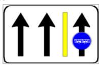 Sinjali në figurë paraqet një karrexhatë me një sens lëvizjeje për qarkullim.