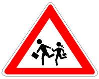 Sinjali në figurë paralajmëron rrezik.
