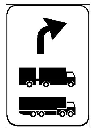 Sinjali në figurë tregon afrimin në një zonë për qëndrimin dhe pushimin e mjeteve të treguara në sinjal.