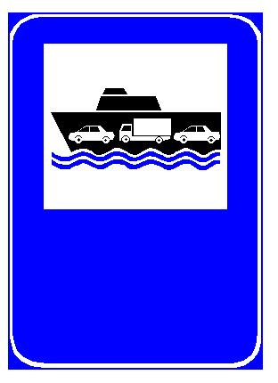 Sinjali në figurë u tregon drejtueseve të mjeteve, që udhëtojnë drejt porteve, se deti është shumë i trazuar.