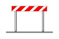 Sinjali në figurë sinjalizon një rrugë me sipërfaqe të deformuar.
