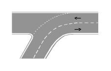 Sinjalistika në figurë tregon një karrexhatë ku lejohet pushimi.