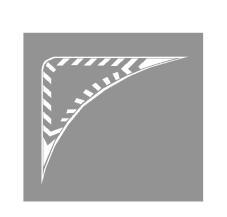 Sinjalistika horizontale e paraqitur në figurë paraqet një ishull trafiku.