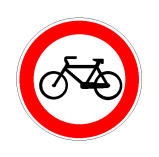 Sinjali në figurë ndalon qarkullimin edhe të ciklomotorëve.
