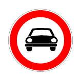 Sinjali në figurë lejon qarkullimin e taksive.