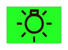 Simboli në figurë tregon vendin e komandimit të sinjaleve.