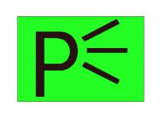 Simboli në figurë vendoset mbi çelësin e komandimit të fenerëve verbues.
