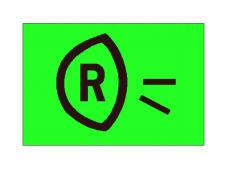 Simboli në figurë tregon vendin e komandimit të dritave të pasme të mjetit.