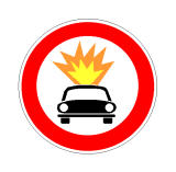 Sinjali në figurë ndalon qarkullimin e autoveturave që përdorin si karburant naftën.