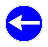 Sinjali në figurë lejon të vazhdosh rrugën drejt në kryqëzim.